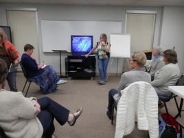 Patty showed an inspiring video about embellishment.