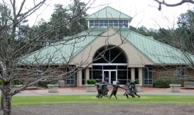 Ball Gardens Visitors Center on Sandhills Community College's Campus