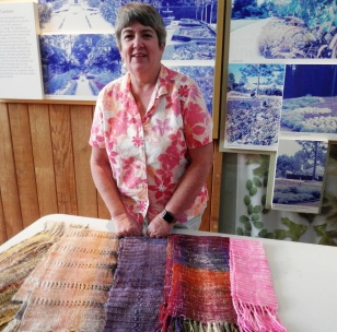 Lynne's show and tell shawls