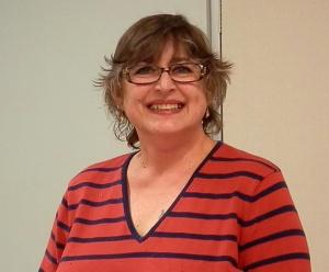 Teresa, our quilling teacher