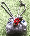 Barbara's knitting yarn bag