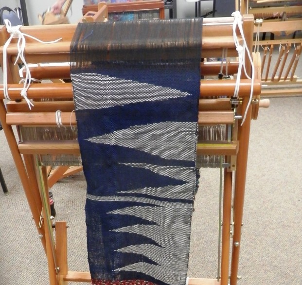 Kate's lovely project that she had woven previously