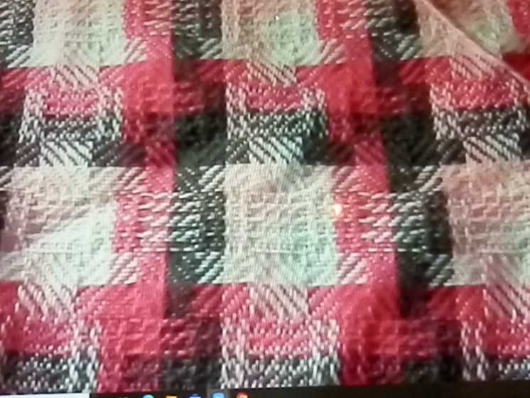 Pink and Gray Baby Blanket