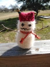 Wonky Snowman